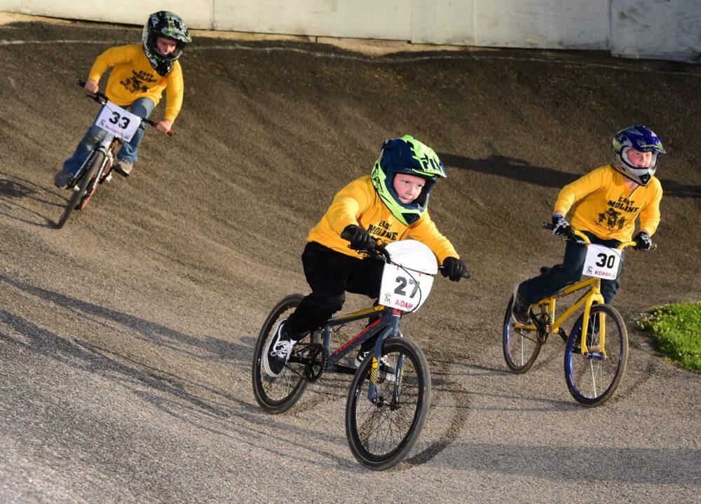Beginners-Only BMX League for Kids at East Moline BMX Speedway